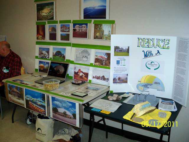 Save Green Expo exhibit by Chris and Maddy Ecker