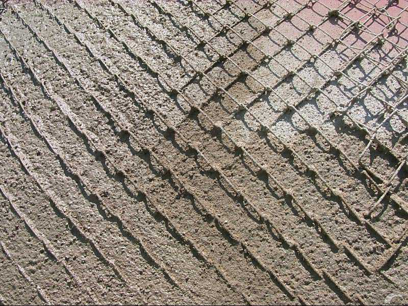 Chain Shell is simply another name for exterior, old-fashioned, heavy-duty stucco.