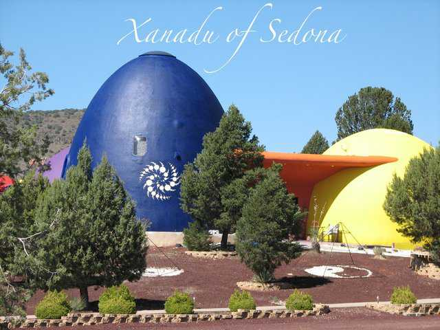 Xanadu, the Monolithic Dome home in Sedona, Arizona