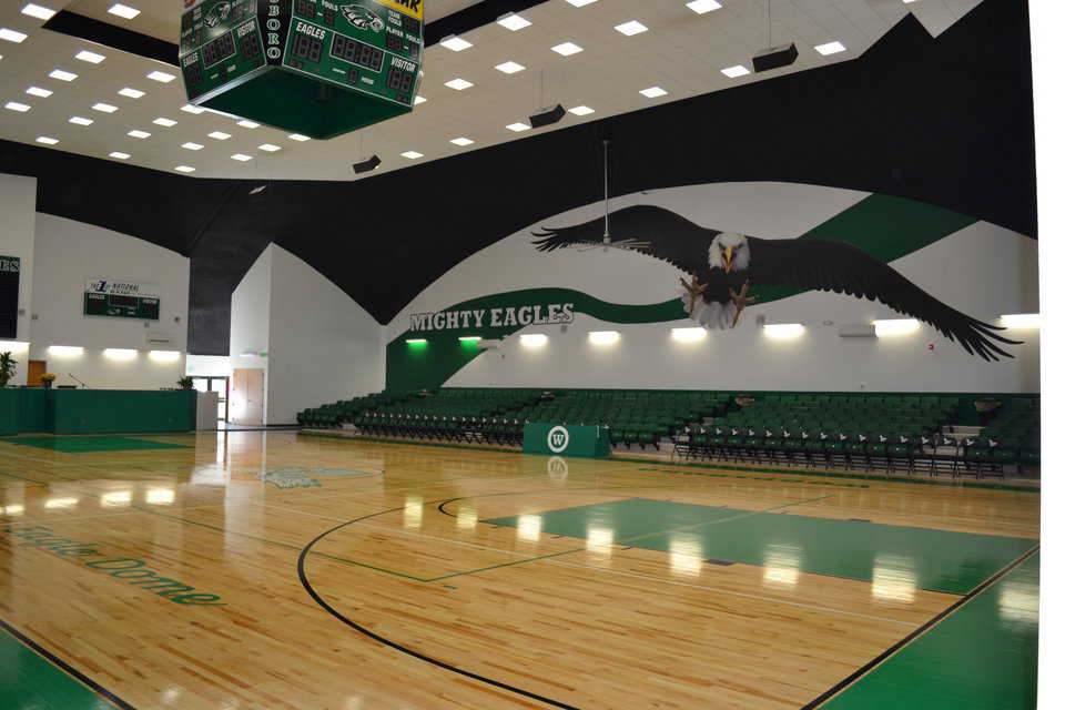 In October 2011, Woodsboro dedicated their 20,000-square-foot gym.