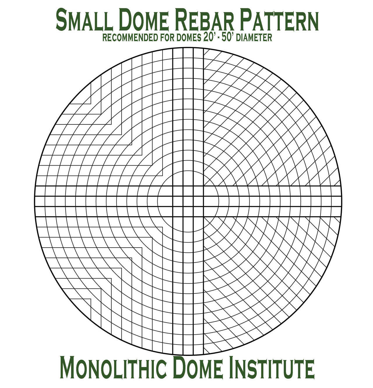 Construction Concrete Dome Home: Steel Rebar Placement In A Monolithic Dome