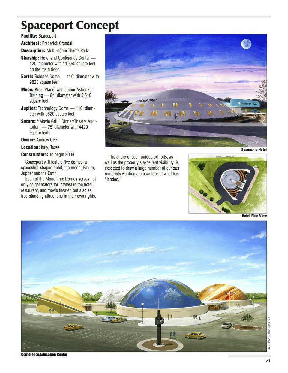Sample pages – Spaceport Concept
