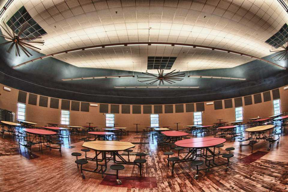 In case of a tornado, this dome can shelter all of Dale's students and staff plus a spillover of 400 to 500 community members.