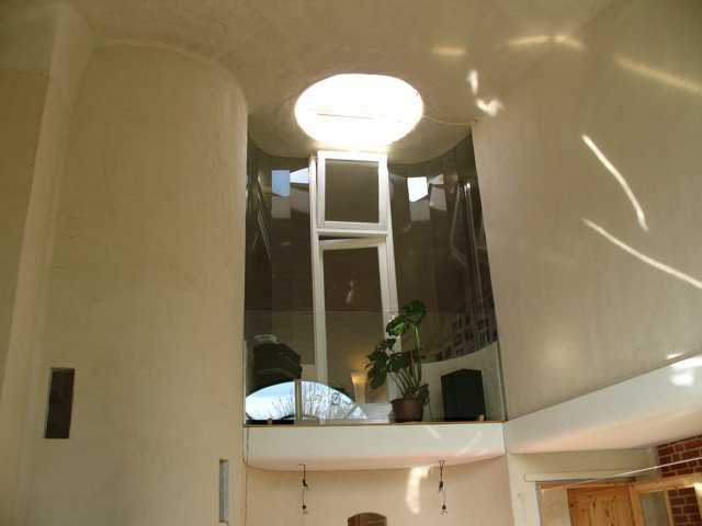 Hans van der Sman began working on his dome after taking the Monolithic Workshop in April 1999.