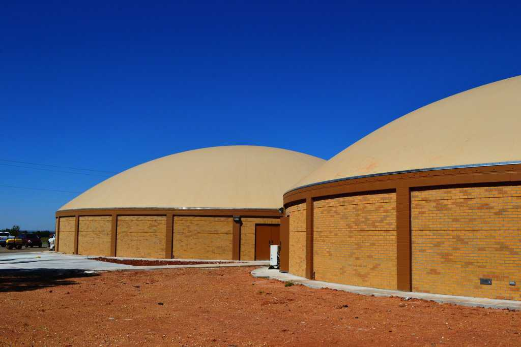 Students, school personnel and the community are pleased with their three new domes, designed by Leland A. Gray Architects of Salt Lake City.