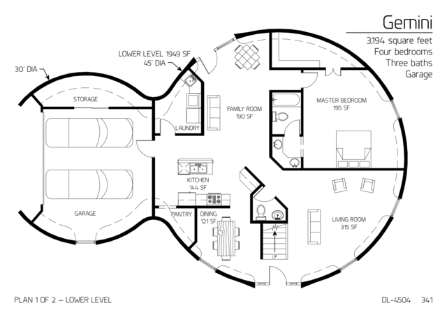 Floor Plans: 3,001 sf and larger | Monolithic Dome Insute on square building floor plan, square art, square house, square bathrooms, house plans, square home design, square construction, square cabin homes,