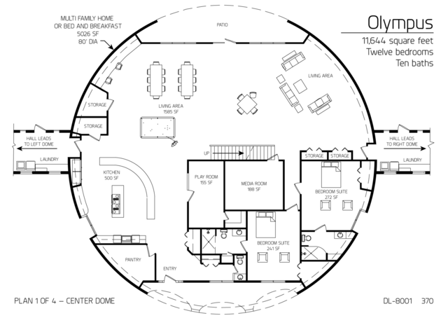 Floor Plan Dl 8001