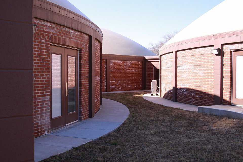 Monolithic Domes are FEMA 361 Certified and can withstand a direct hit from a tornado.