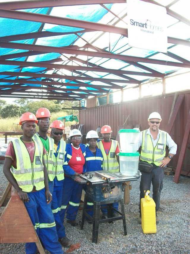 "Project Manager Rod Russell sent us an email from his job site in South Africa saying, ""… we appreciate the water filter you sent. It works so well, and the water tastes so good…."""