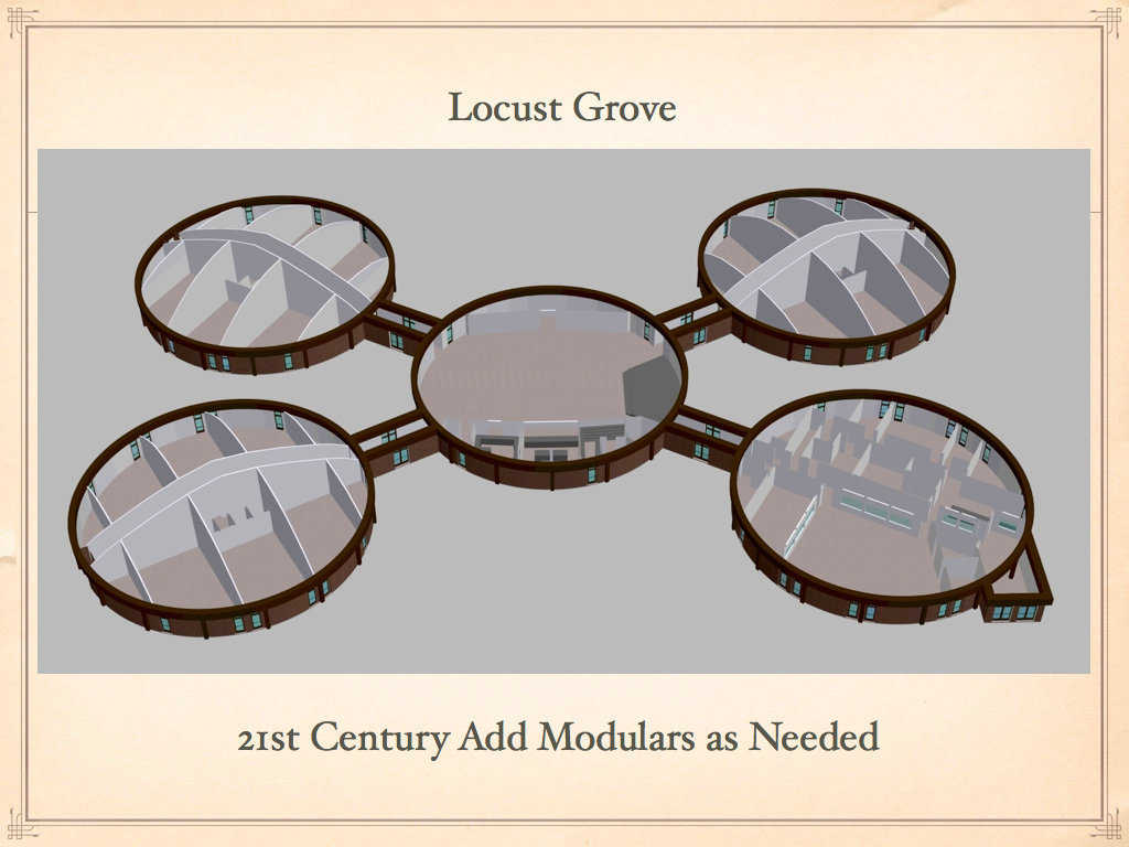 Locust Grove, Oklahoma is a small community with just 1,200 residents. But in 2007, they passed a bond to add Monolithic Domes to their campus.   See: http://www.monolithic.com/stories/feature-school-locust-grove-oklahoma