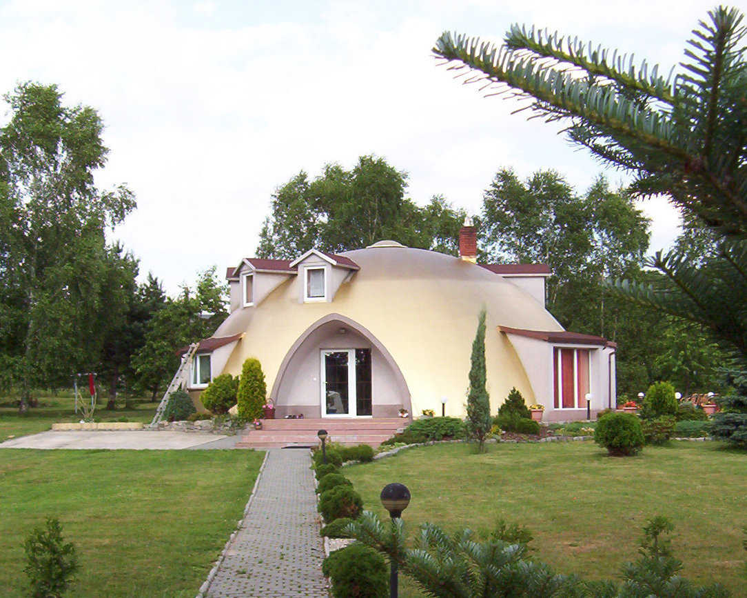 This dome in Poland is available for tour on Saturday, October 19, 2013.