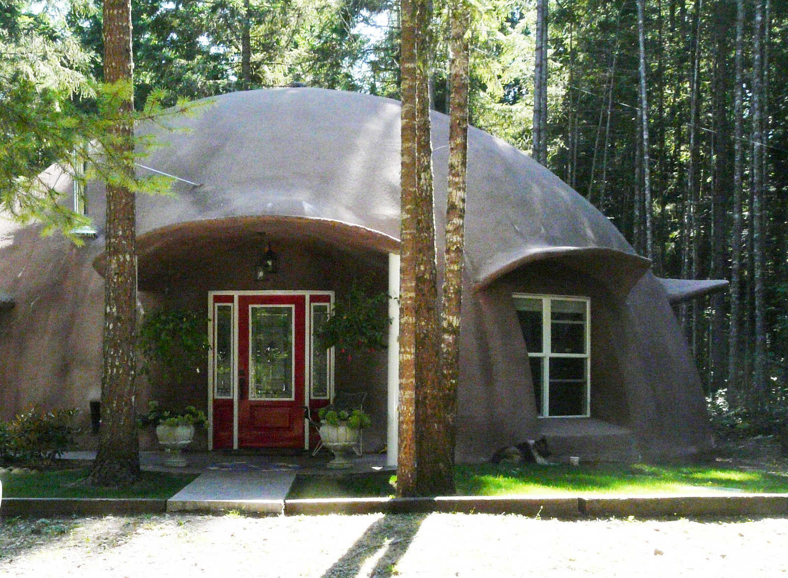 Hendricks Dome Yelm Washington Monolithic Dome Institute