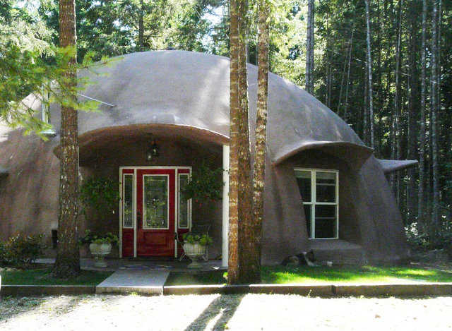 This dome in Yelm, Washington is available for tour October 19, 2013.