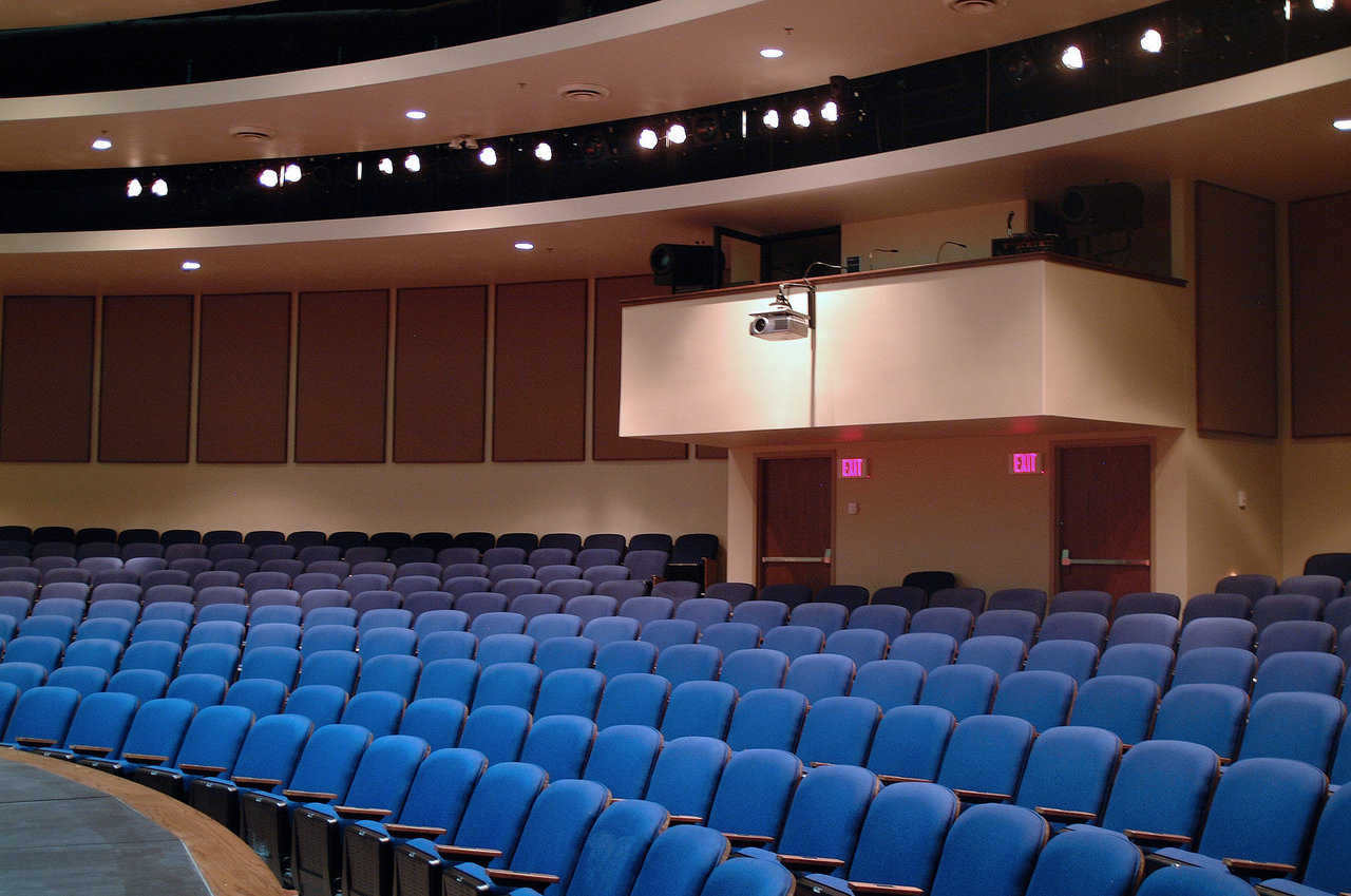 Intermediate Theater: Very nice seating, superior lighting, and sound attenuation.