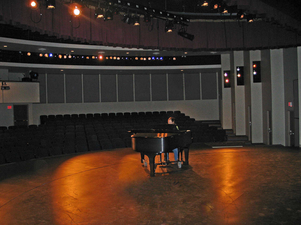 Intermediate Theater: Simple and nice. Great for music performances.