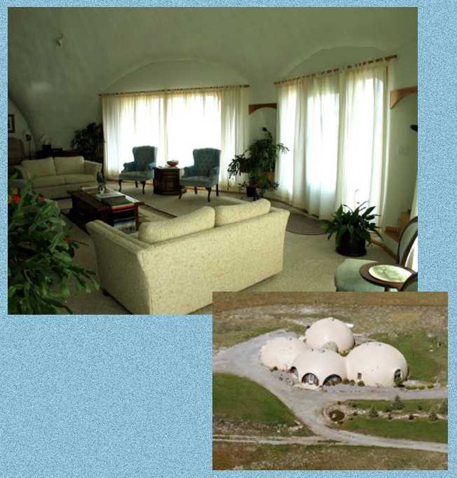 Basic Dome Home S Interior Plans: Upscale Monolithic Dome Home In Montana