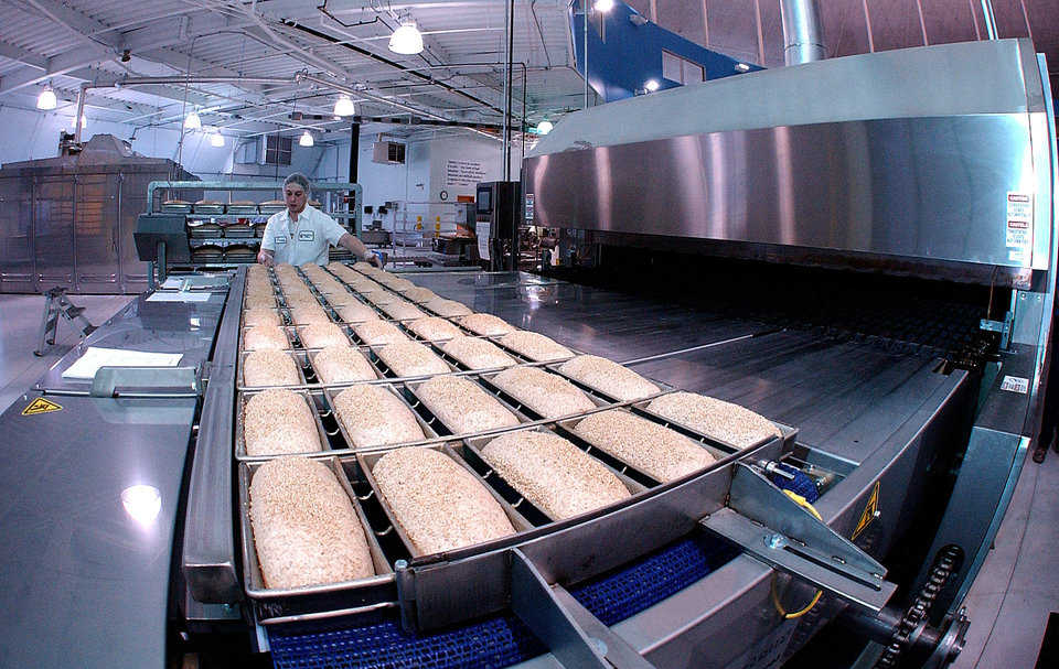 The bakery currently has a staff of 58 in three departments: production, packaging and sanitation.
