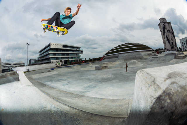 Danish skate park is more than just a concrete jungle.