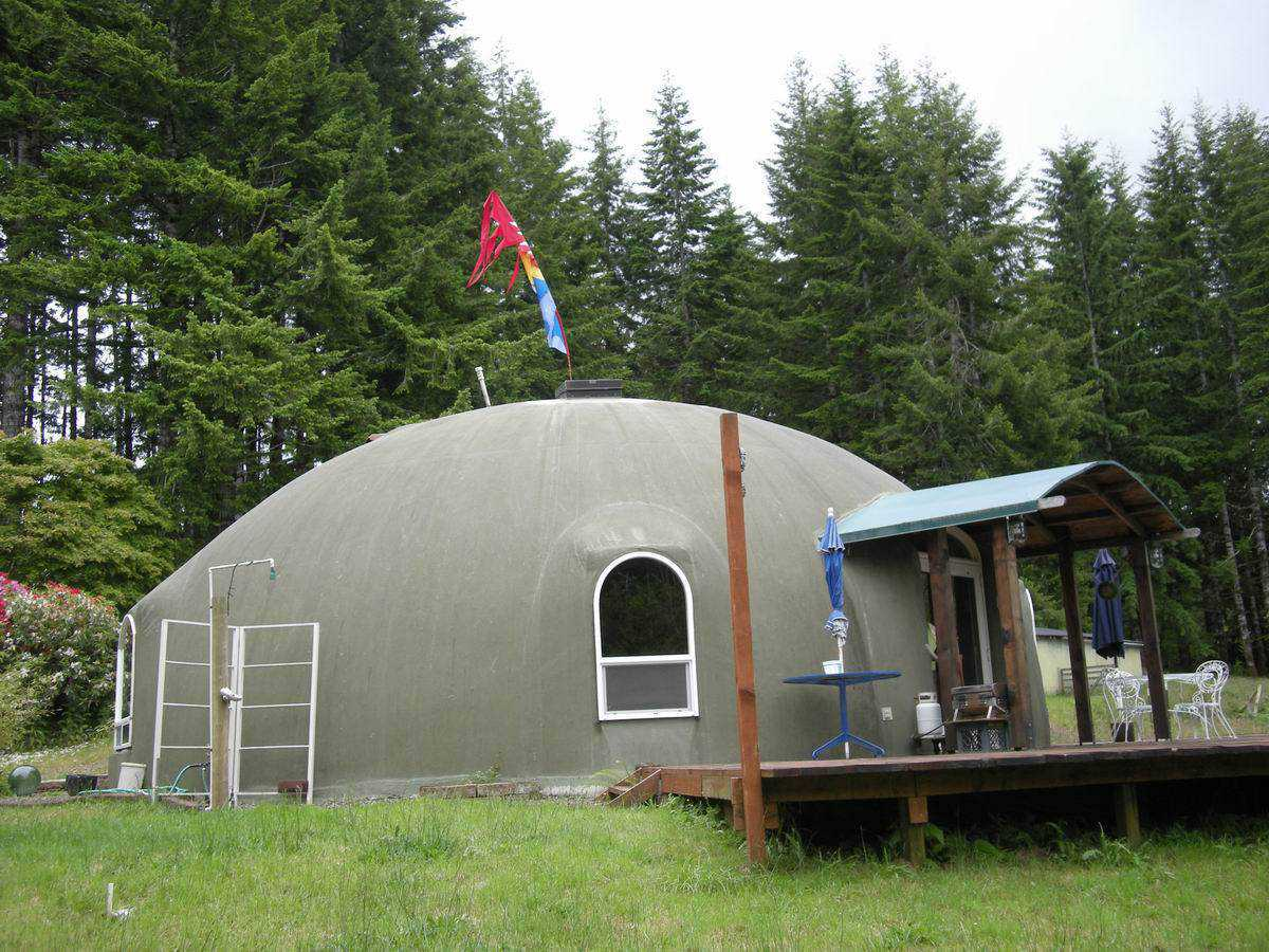 Oregon dome home construction adventures monolithic dome for Building a house in oregon
