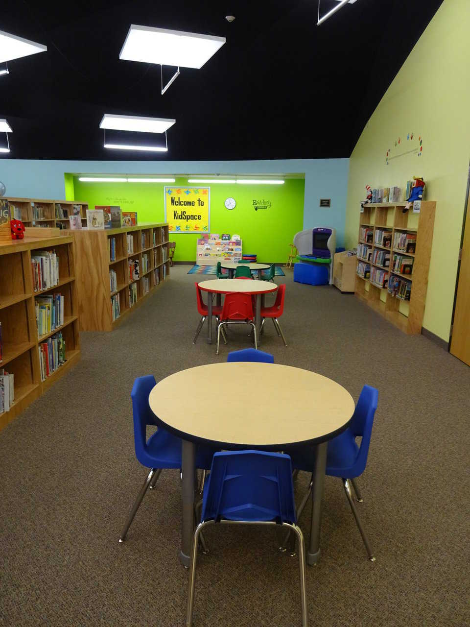 Kasson library kid space