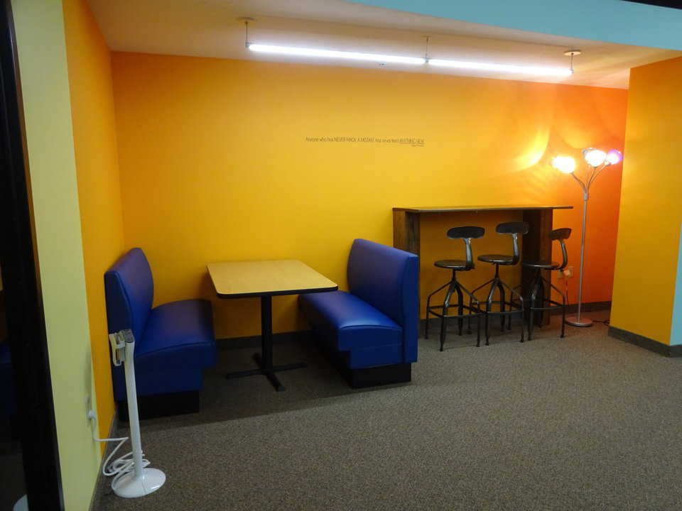Kasson library young adult area