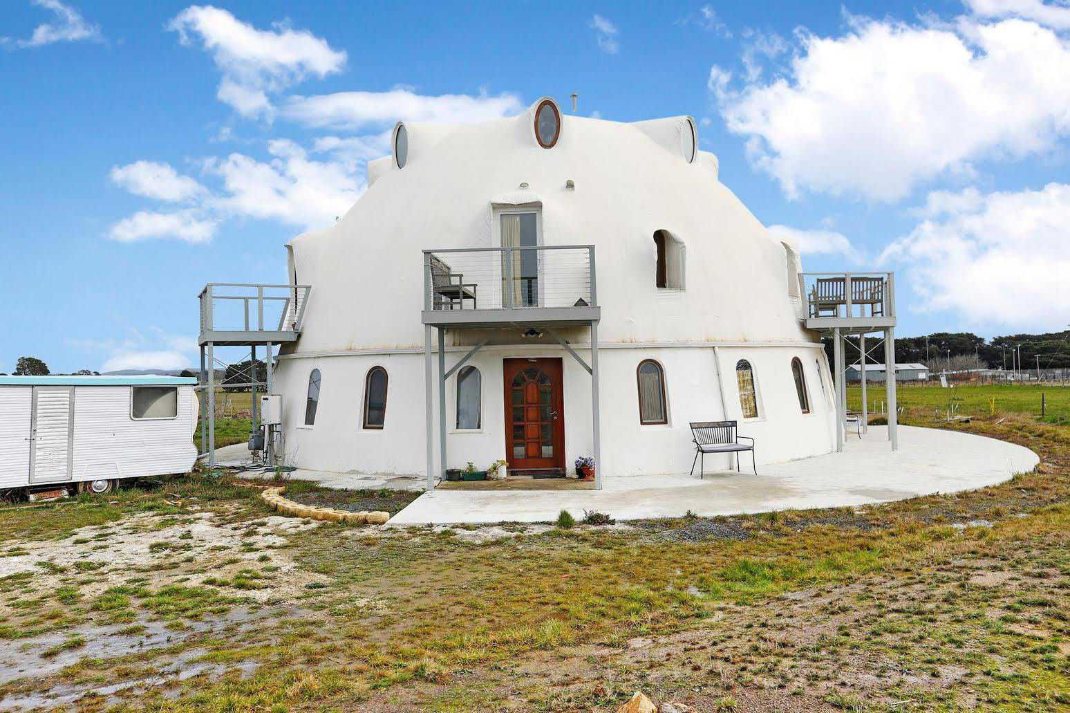 There's no place like dome: spacious dome home for sale in ...