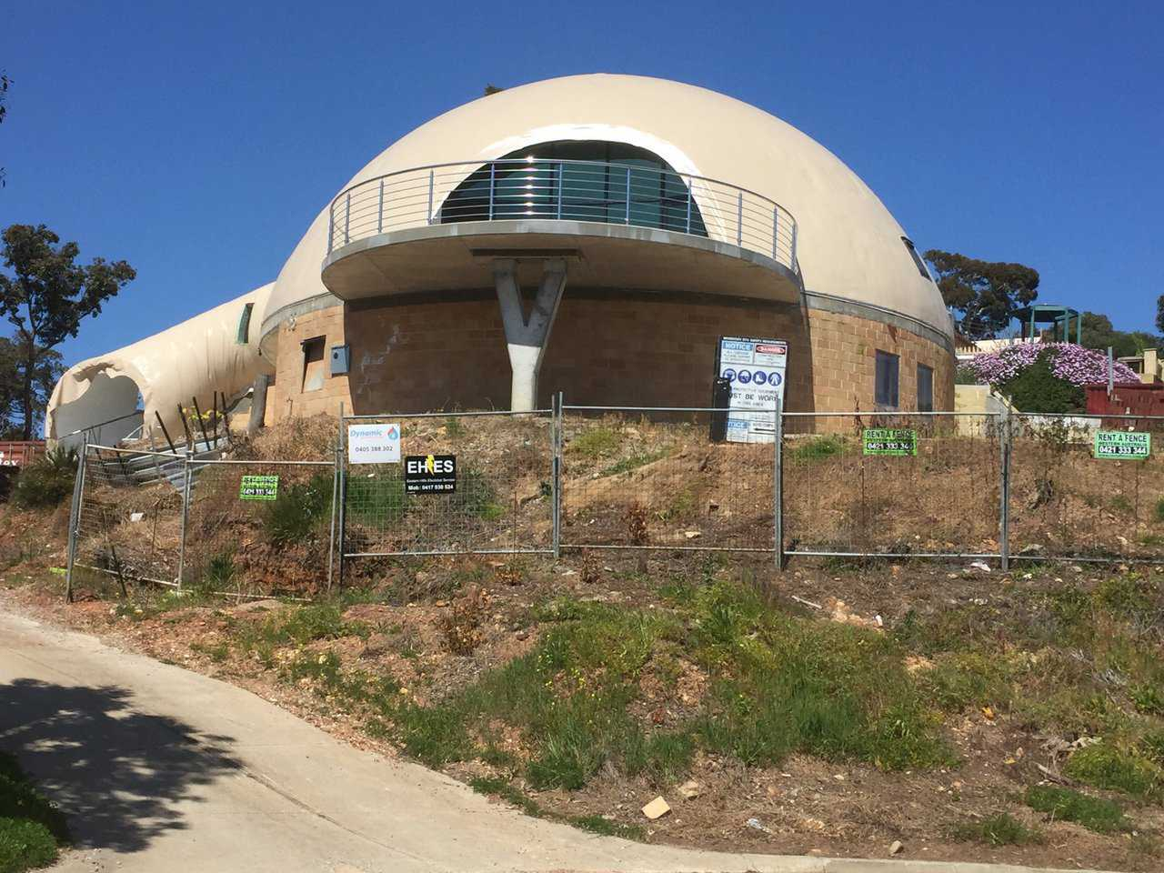 Australian Adventure Nears Completion Monolithic Dome
