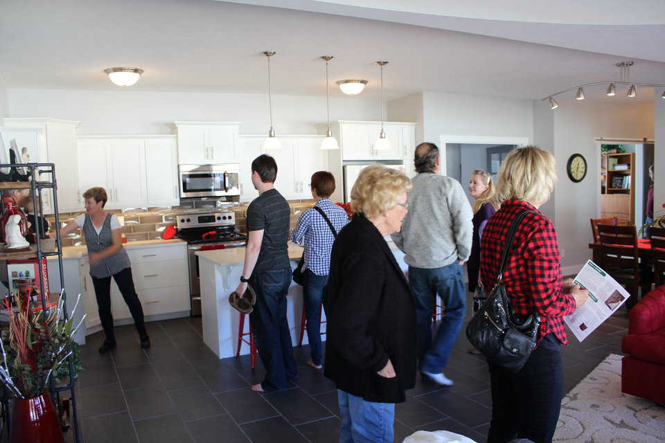 Kitchen during the event