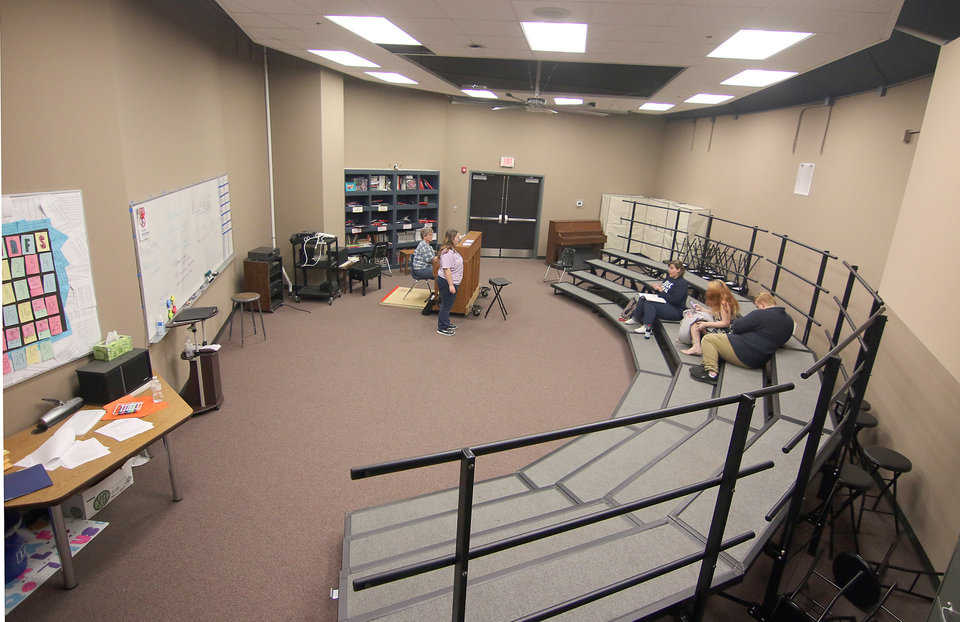 Choir room