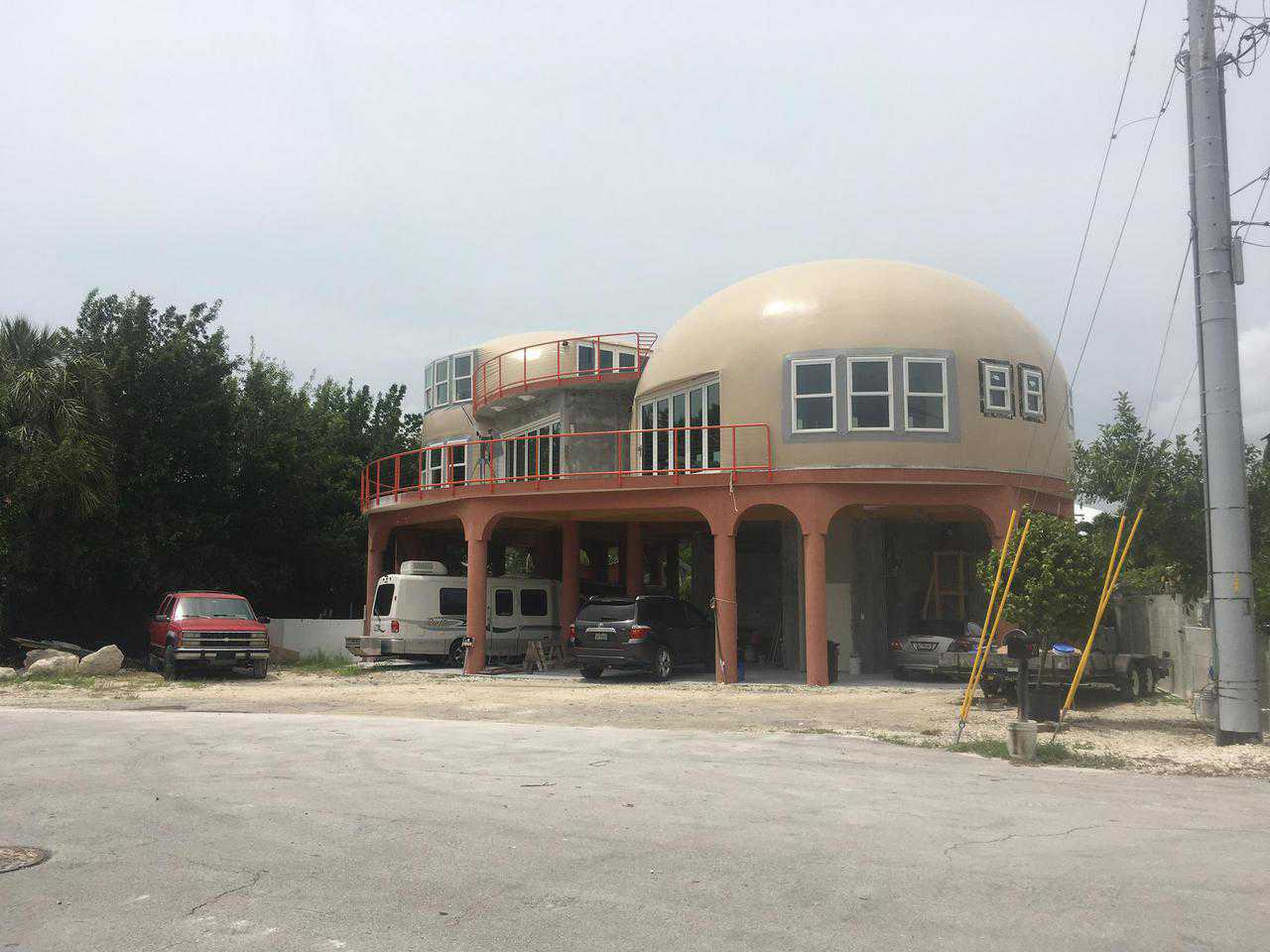 House Plans For Florida Monolithic Dome Survives Hurricane Irma Monolithic Dome