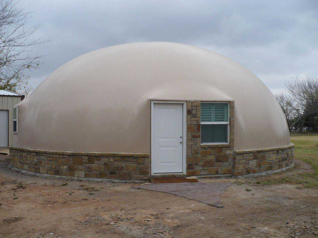 Dension dome home