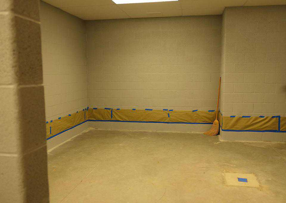 Locker room space