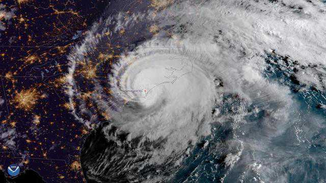 Hurricane Florence makes landfall