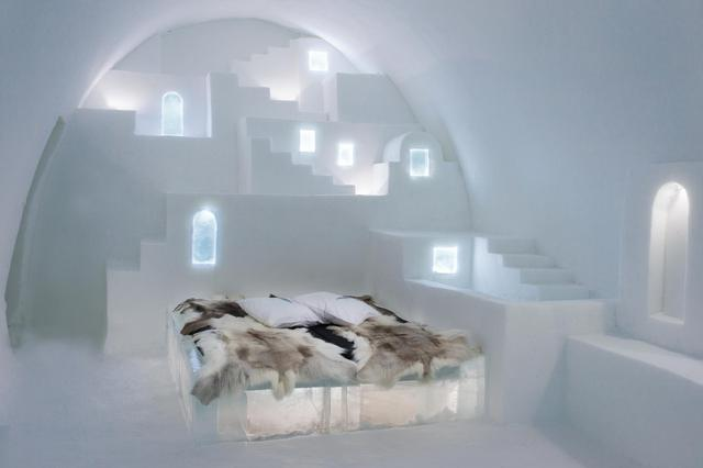 Art Suite at Ice Hotel in Sweden
